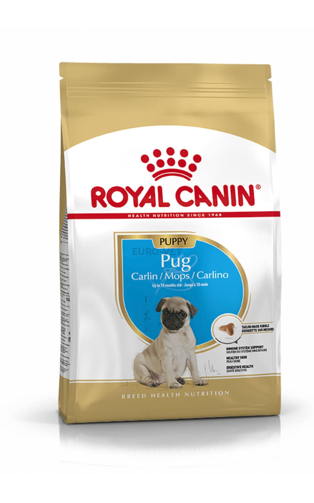 Thức ăn viên Royal Canin Pug Puppy 1,5kg