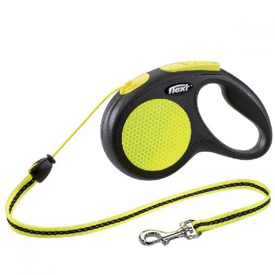 Dây dắt tự động Flexi New Neon size M (5m - chó dưới 20kg)