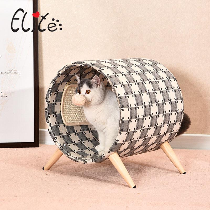 Nhà ngủ kiêm trụ mèo cào elite