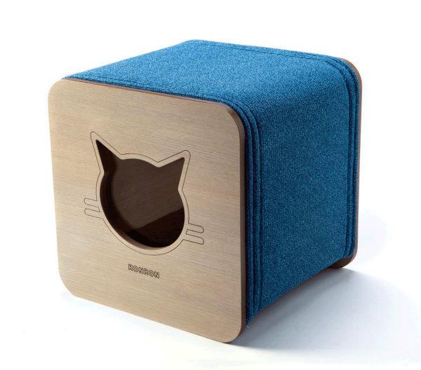 Nhà mèo vuông