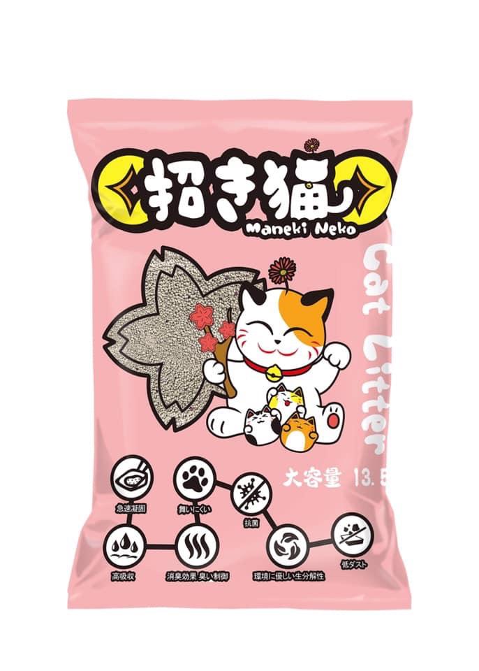 Cát vệ sinh cho mèo Neko 13,5L