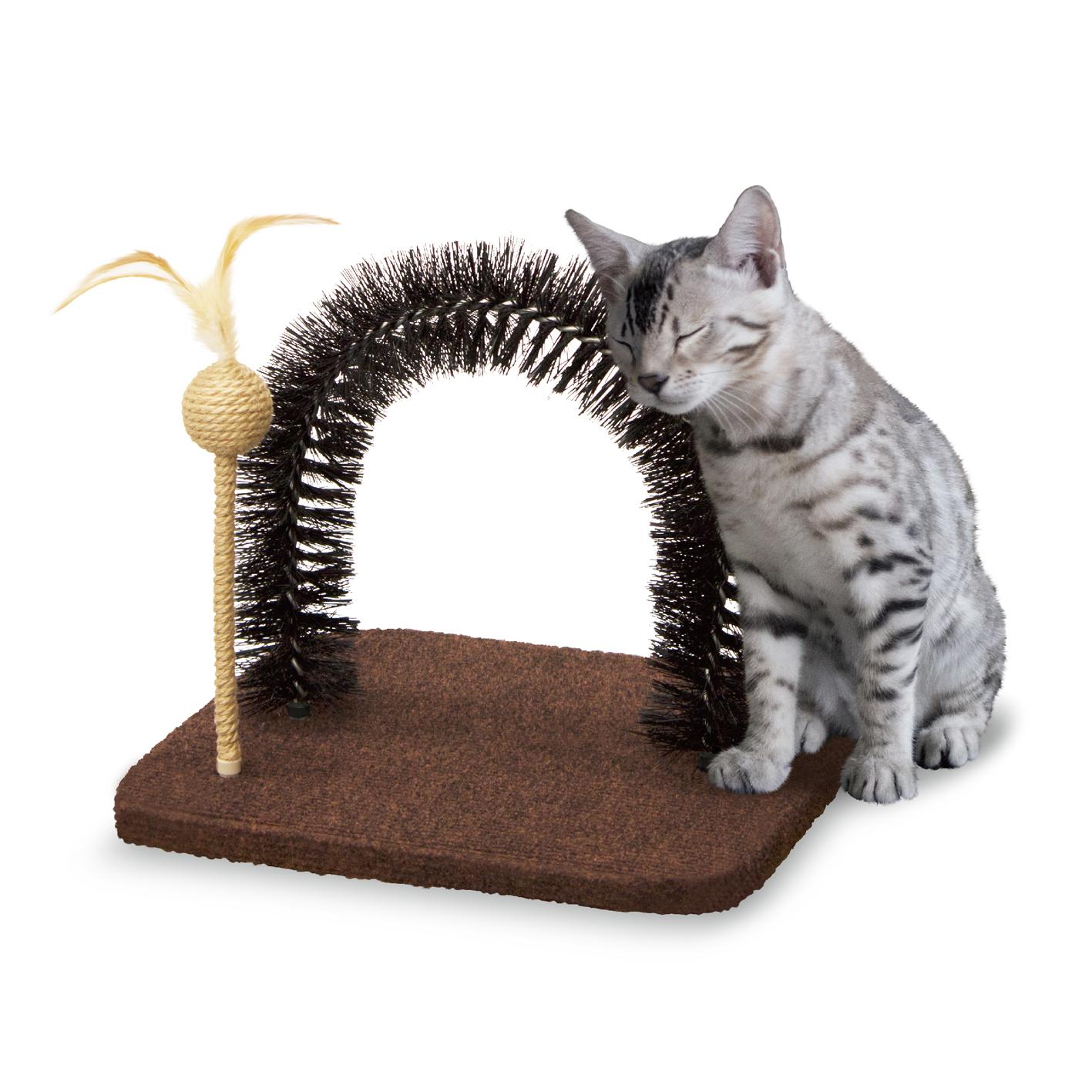 Đồ chơi chải lông mèo