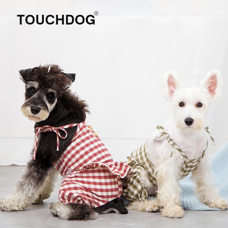 Áo dây caro Touchdog
