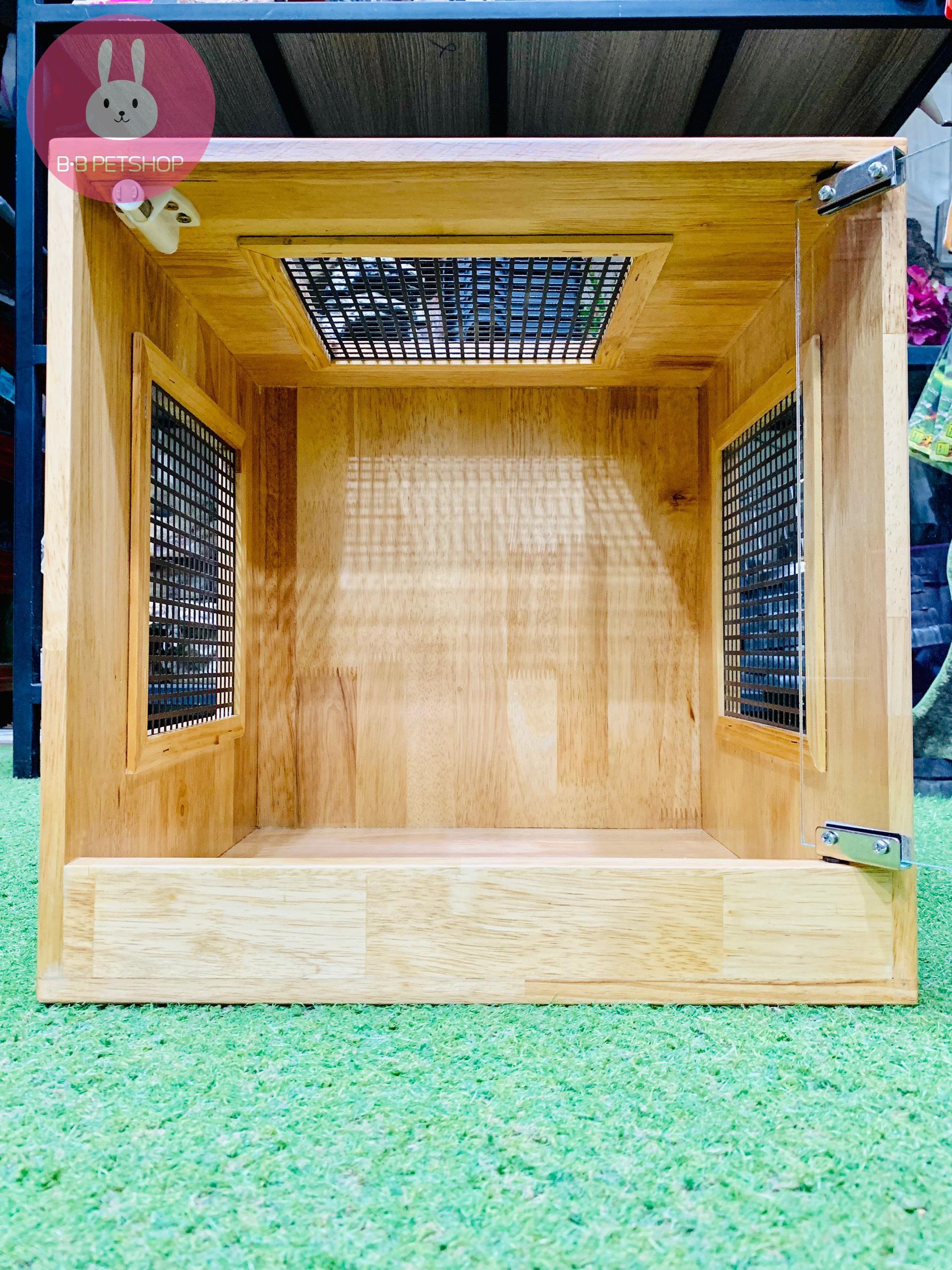 Chuồng gỗ mini (40x40x40)cm