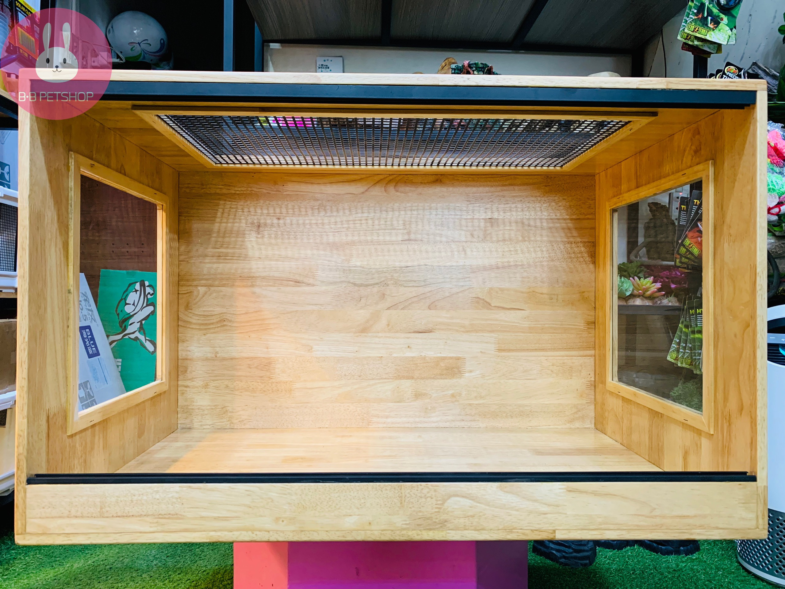 Chuồng gỗ (80x50x50)cm