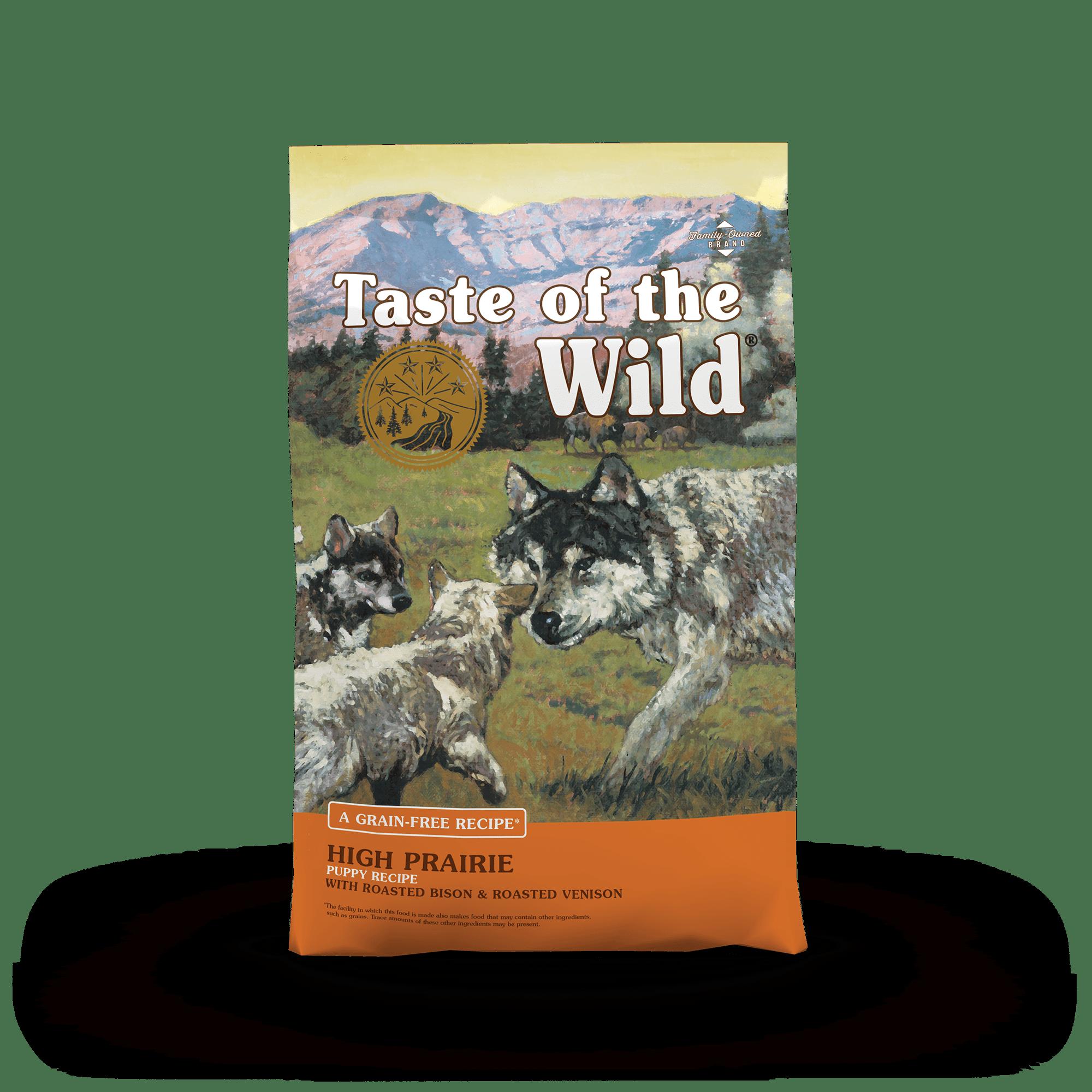 Thức ăn viên Taste of the wild cho chó con vị bò rừng và nai nướng 2kg