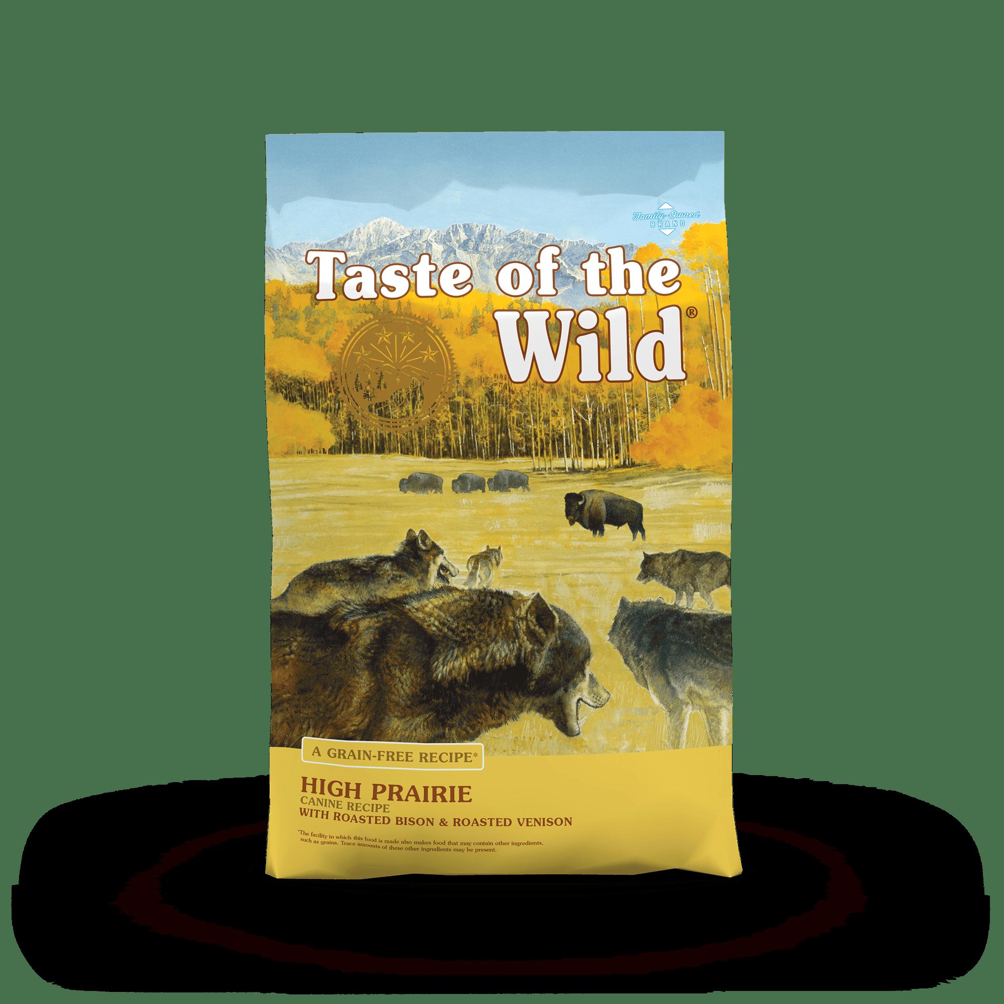 Thức ăn viên Taste of the wild cho chó vị bò rừng và nai nướng 2kg