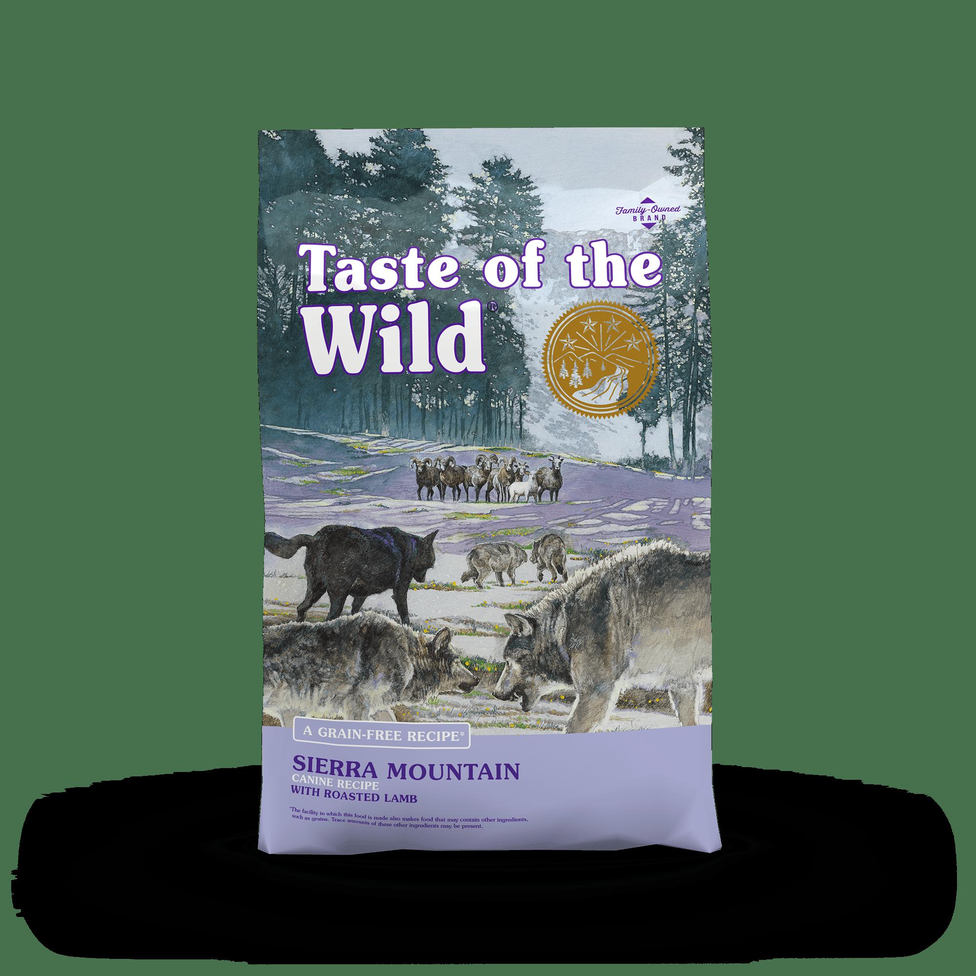 Thức ăn viên Taste of the wild cho chó vị cừu nướng 2kg
