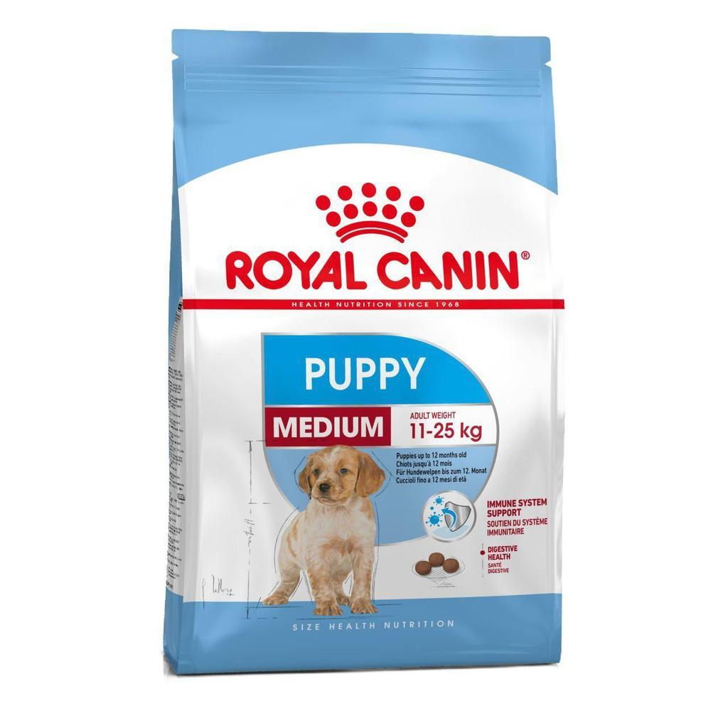 Thức ăn viên Royal Canin Medium Puppy 4kg