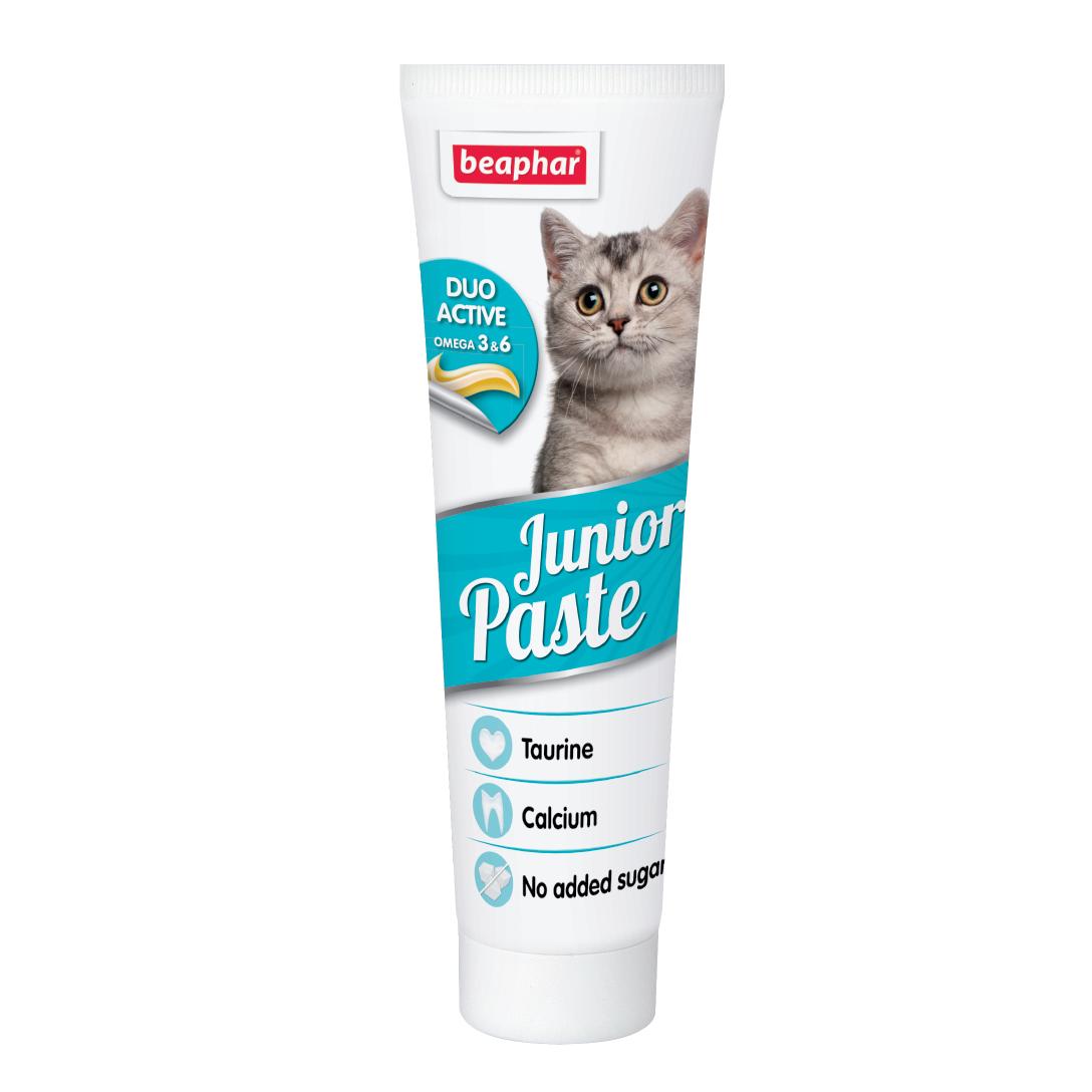 Gel dinh dưỡng cho mèo con Beaphar duo active junior paste cat  100g