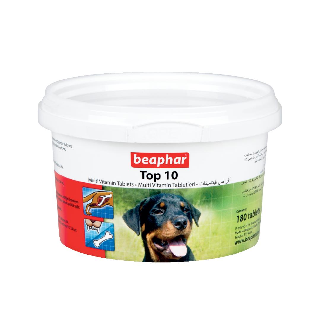 Vitamin tổng hợp cho chó Beaphar multi vitamin top 10