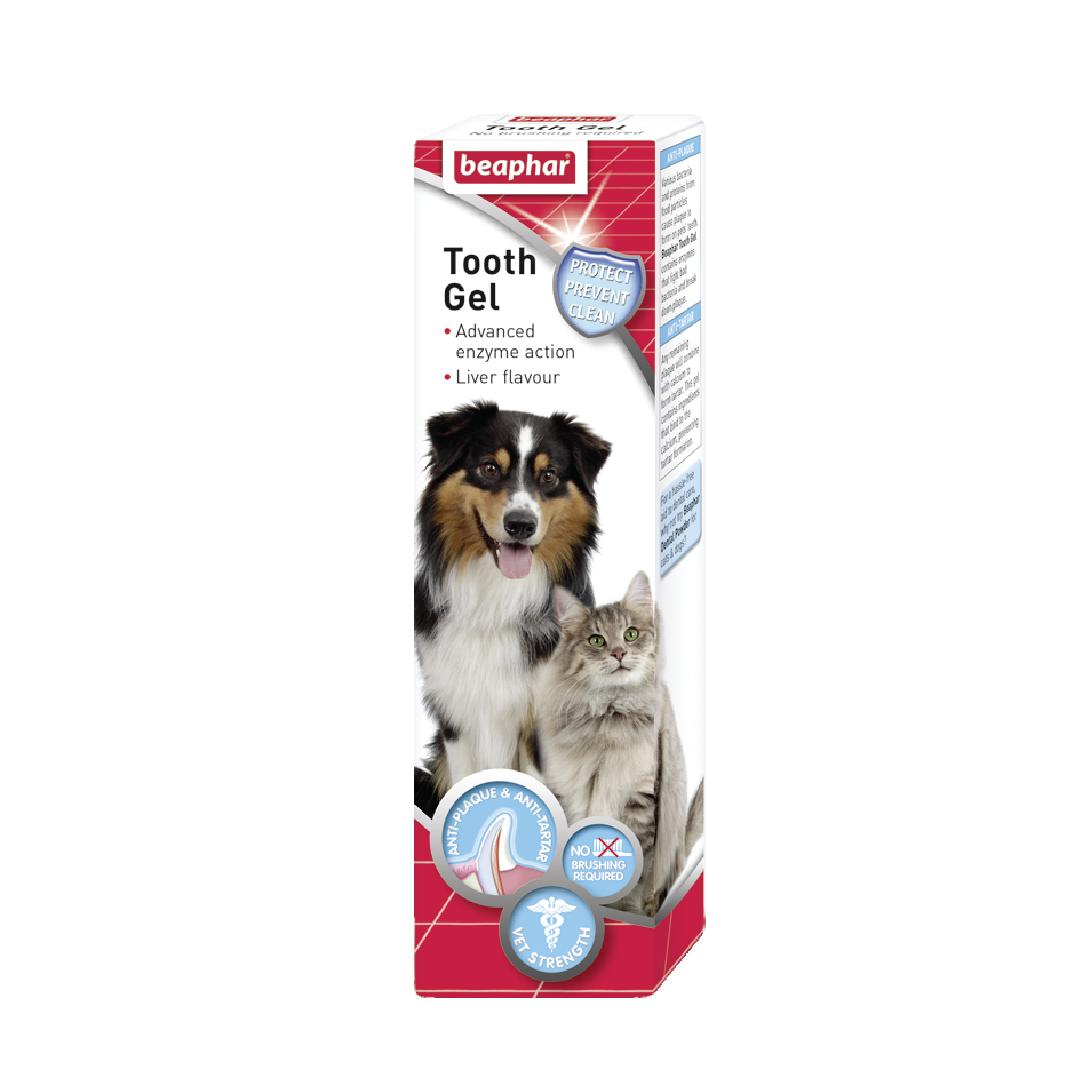 Gel vệ sinh răng miệng Beaphar tooth gel dog/cat 100g