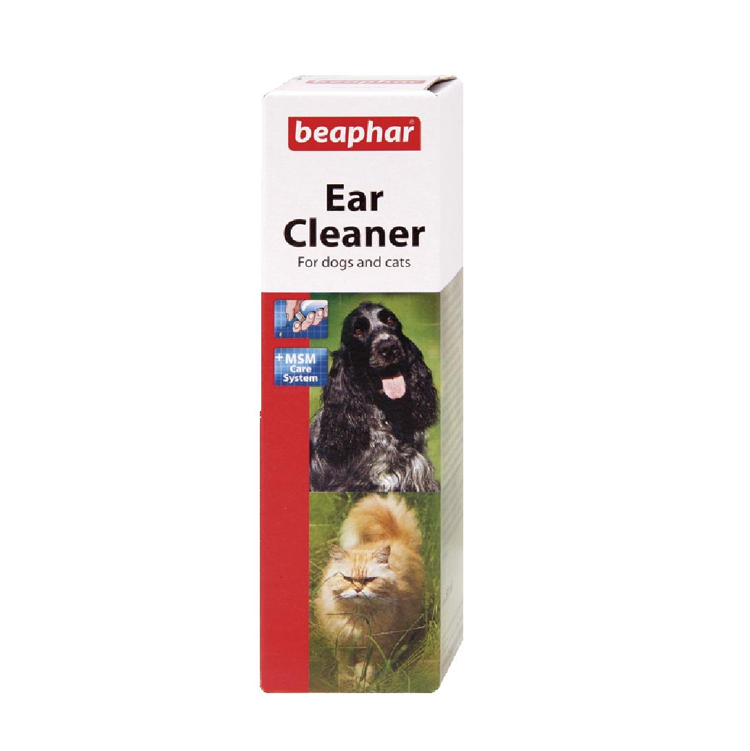 Dung dịch vệ sinh tai Beaphar ear cleaner dog/cat 50ml