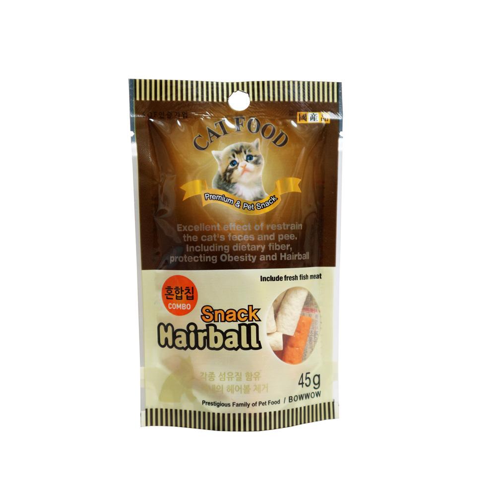 Snack hỗn hợp cho mèo Bowwow 45g