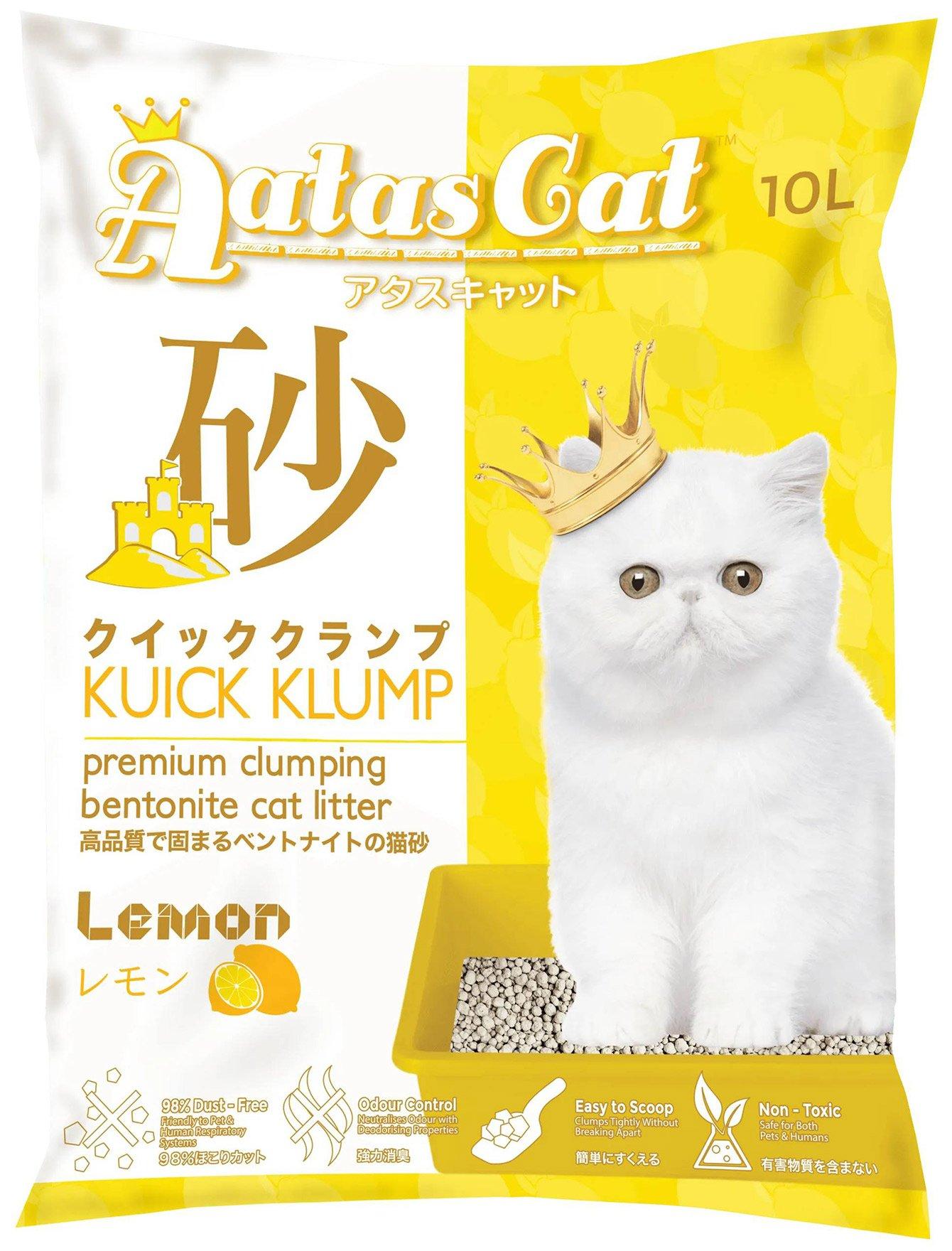 Cát vệ sinh cho mèo Aatas Cat 10L