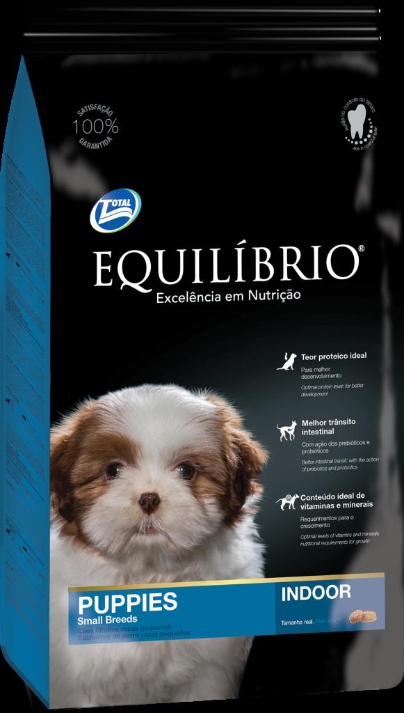 Thức ăn viên cho chó con giống chó nhỏ Equilibrio Puppy Small Breeds 2kg