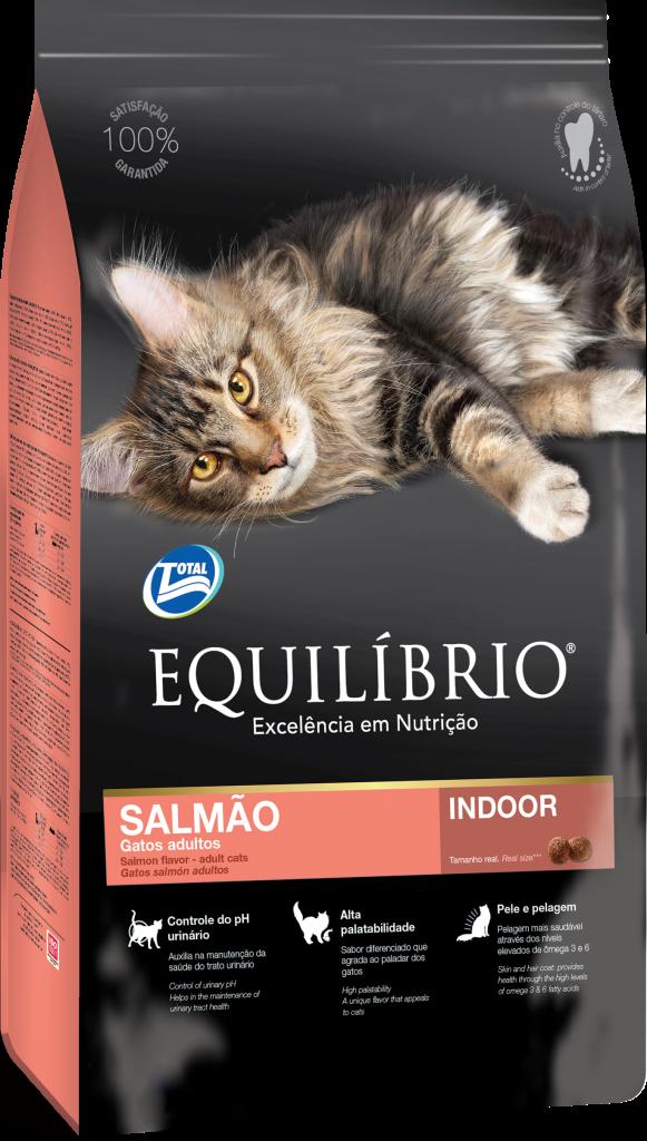 Thức ăn viên cho mèo trưởng thành vị cá hồi Equilibrio Salmon 1,5kg