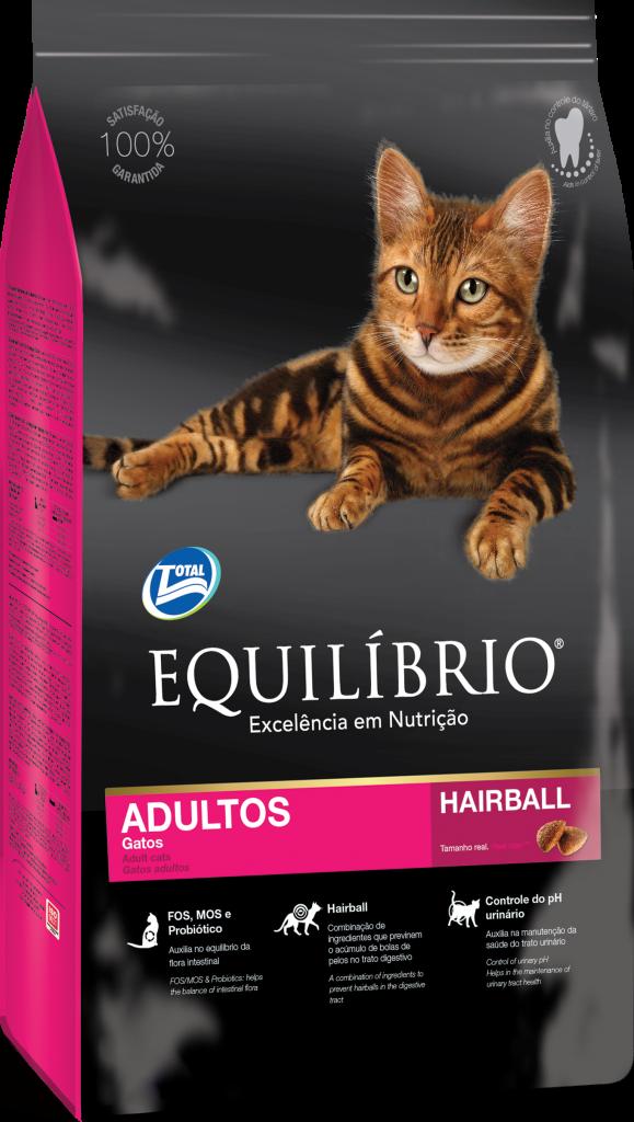 Thức ăn viên cho mèo trưởng thành lông ngắn Equilibrio Cat Adult 1,5kg