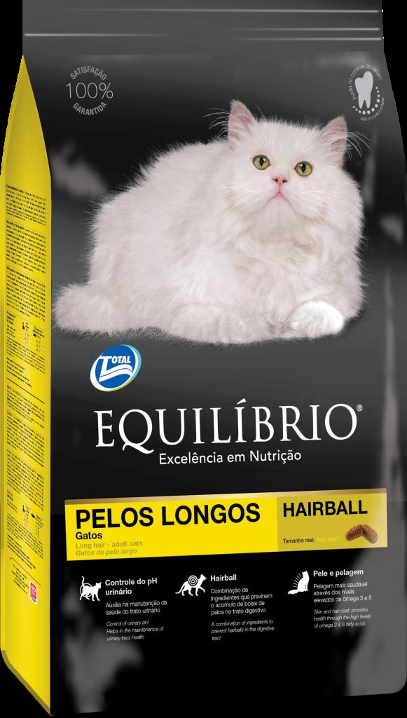 Thức ăn viên cho mèo trưởng thành lông dài Equilibrio Cat Long Hair 1,5kg