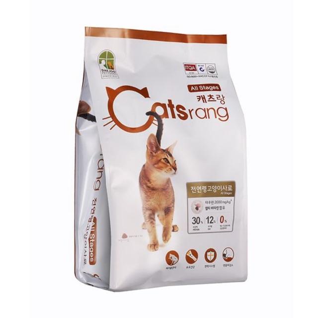Thức ăn viên cho mèo mọi độ tuổi Catsrang indoor 400g